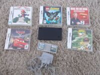 nintendo dsi console and games
