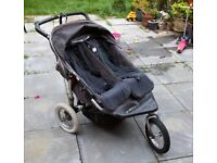City Metro Double Buggy. Free. Needs a little work and cleaning.