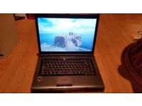 Toshiba satellite l300d windows 7 250g hard drive 4g memory webcam wifi