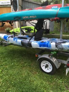 Winner Strider XL fishing kayak
