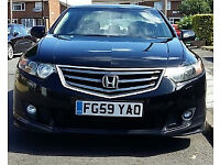 Beautiful Black Honda Accord 2.2i D-tec 59 Reg