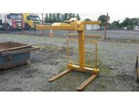 2000KG SWL Tower crane forklift attachment