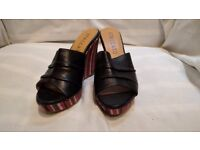 Black Staccato Shoes Size 5