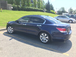 2009 Honda Accord, Quality Lather. Sedan EXL, V6. FOR ONLY $9250