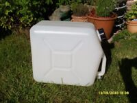 fresh water container