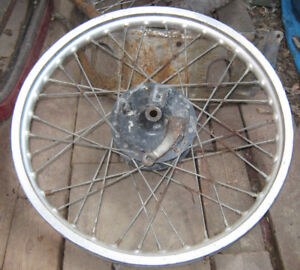 2 dirt bike motorcycle Wheels / Rims  (Chilliwack)