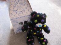 BABW Black Star bear with box (noise broken) - £4