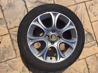 Fiat Punto Alloy Wheel, to fit new model, to suit tyre size 195/55R16, perfect as a spare