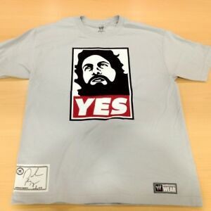 "SIGNED Daniel Bryan ""YES Movement"" Authentic T-Shirt"