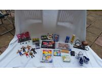Assorted toys and games