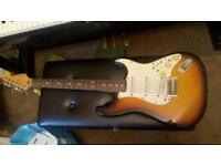 Fender Mexican stratocaster with Roland synth pickup and module **can post**