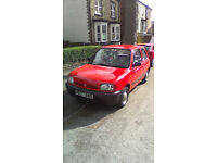 Nissan MICRA 1995 . automatic wery good condition and drives perfeckt No MOT noroad tax no loogbook