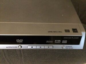 Panasonic DVD/CD player with remote