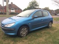 Low mileage, PEUGEOT 206 HATCHBACK, 1.4 LX 5DR [AC] MANUAL