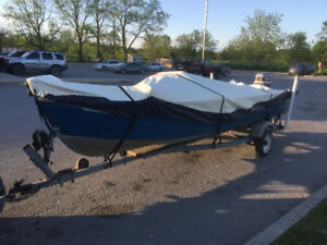 16' Starcraft with 35 Evinrude and trailer