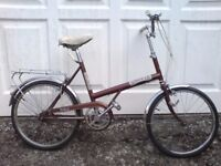 CLASSIC BSA SHOPPER WITH £30 PAIR OF NEW SCHWALBE PUNCTURE PROOF TYRES £59