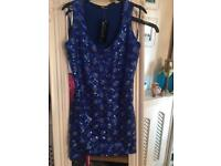 Lovely Jane Norman sequinned top size 12 new with tags