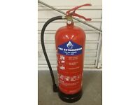 Powder Fire Extinguisher - Home / Office / Garage / Shop