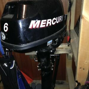 2007 6 HP Mercury Outboard