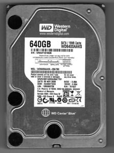 FOR Sale: 640 Gig Hard Drive