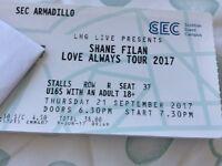 Shane Filan, Love always tour tickets
