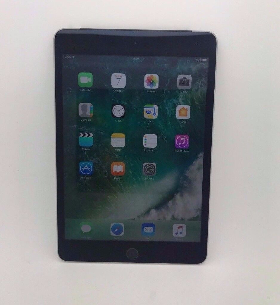 Apple iPad Mini 4 64GB, Wi Fi, and Cellular UnlockedSpace Greyin Redbridge, LondonGumtree - Apple iPad mini 4 64GB, Wi Fi and Cellular Unlocked Space Grey Please note the iPad screen has some scratches Back and sides are fine PLEASE SEE PHOTOS FOR MORE DETAIL Unlocked Accessories Included Generic usb cable