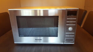 Stainless Steel Microwave - like new