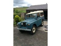 Classic Landrover series 2A 1961 diesel good runner tax exempted