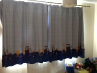 Next Little Constructors Blackout Lined Curtains
