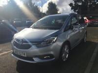 Vauxhall Zafira Tourer SRI CDTI S/S (silver) 2016-09-30