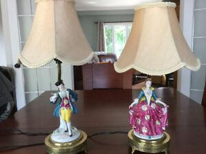 Lampes datant de 1950