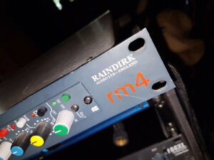 Preamp Raindirk RM4 2 channels - Préamplificateur