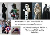 RTS StarWars and Superheros NI