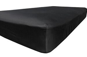 Brand new black twin fitted sheet