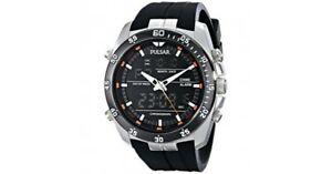 Pulsar PW6009 Men's Stainless Steel Multifunction Watch