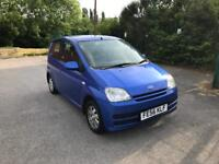2006 DAIHATSU CHARADE 1.0s LONG MOT IDEAL LEARNER CAR