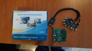FS: BL-1408 PCI-E DVR Card - connect up to 8 of your CCTV camera
