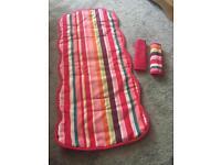 Pink seat liner & pads