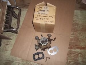 Rochester 2 barrel Carburetor General Motors early to mid 70's