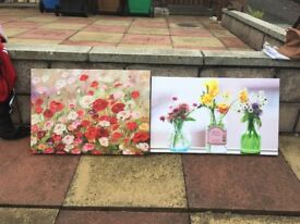 2 Beautiful canvases