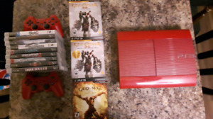 God of War Limited Edition PS3 w/ 2 Controllers and 13 Games