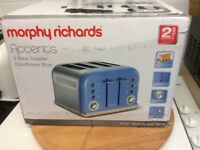 Morphs Richards 4 slice toaster