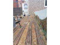 Model Railway Motive power depot layout 00 scale