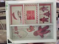 My first Christmas box frame - NEW
