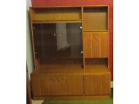 Storage/display cabinet. 177cm high, 150cm wide. Maidenhead