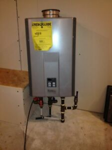 Rinnai Gas Fired Tankless Water Heater
