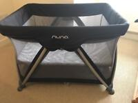 Nuna Black Travel Cot
