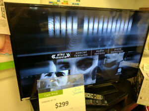 """SAMSUNG 46"""" LED TV REDUCED TO CLEAR! AS IS !!!"""