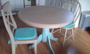 Table ronde 42 pouces