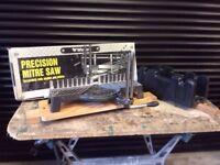 PrecisionAdjustable Mitre Saw and Fixed Mitre Saw Block